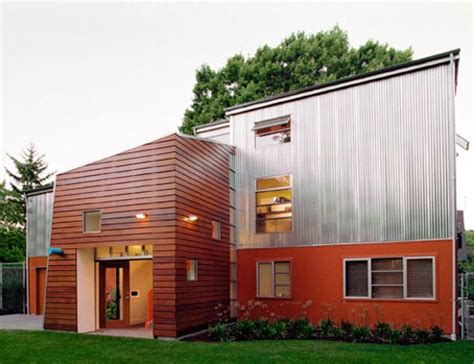 Contemporary House Siding Seattle Home Exterior With Ipe Siding East Teak