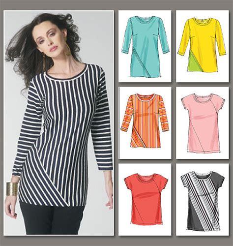 t shirt sewing pattern vogue vogue patterns 8792 misses top