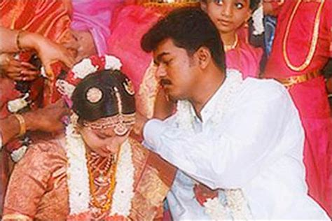 biography of tamil film actor vijay vijay marriage when the tamil superstar fell for his fan