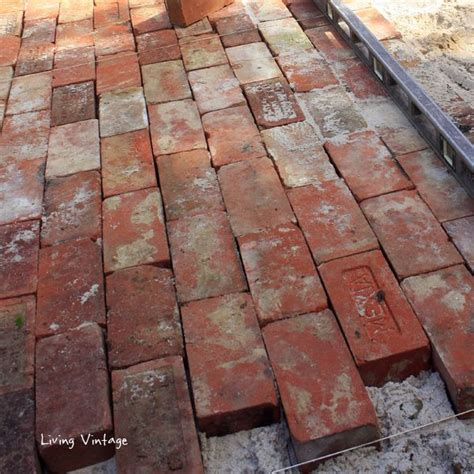 c pattern brick a running bond pattern using reclaimed brick vintage brick patios