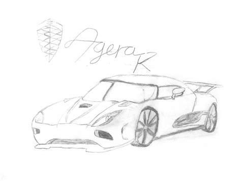 Koenigsegg Agera R Coloring Pages Koenigsegg Agera R By Metalsonicdestroyer On Deviantart