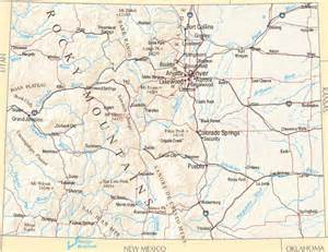 colorado map colorado zone maps