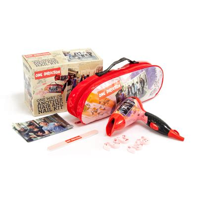 One Direction Hair Dryer one direction one way or another hair dryer and nail kit