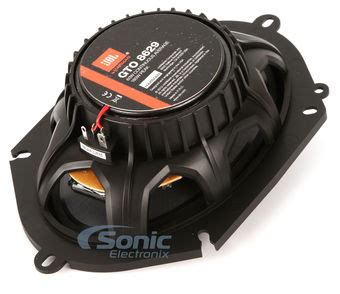 Sonic Electronix Gift Card - jbl gto8629 6 quot x 8 quot gto coaxial car speakers free 25 sonic electronix gift card