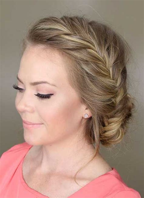 Fishtail Hairstyle by 15 Fishtail Braids Hairstyles Hairstyles Haircuts 2016