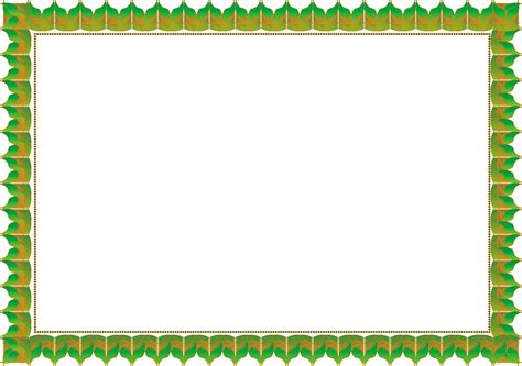template bingkai undangan download border bingkai template desain grafis
