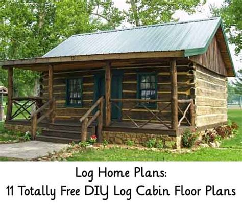 diy log cabin plans log home plans 11 totally free diy log cabin floor plans