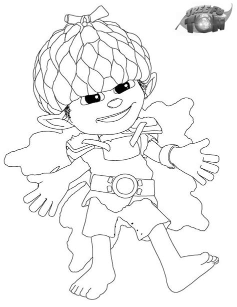 coloring pages tree fu tom free coloring pages of fu tom tree
