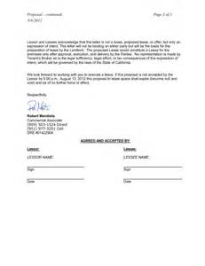 Mortgage Letter Of Intent To Occupy Sle Commercial Real Estate Archives Commercial Real