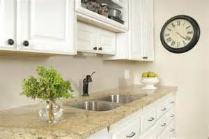 Best Countertops For White Cabinets by The Best Granite Countertops For White Cabinets Ehow