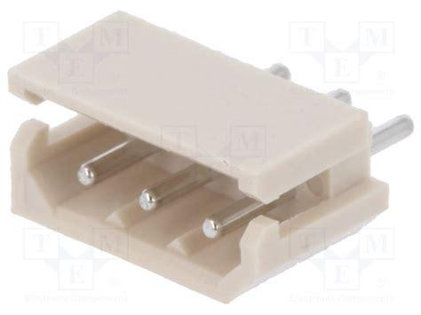 Kr20135 4 Pins Molex 50 37 5043 2 50 Spox 022035035 22 03 5035 5267 03a molex socket tme electronic components