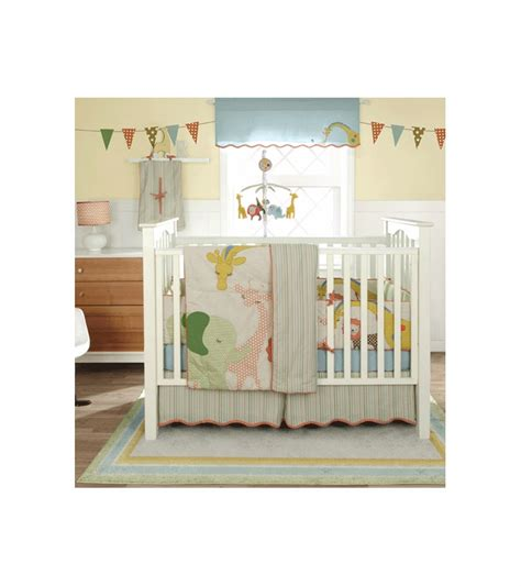 migi circus 3 crib bedding set