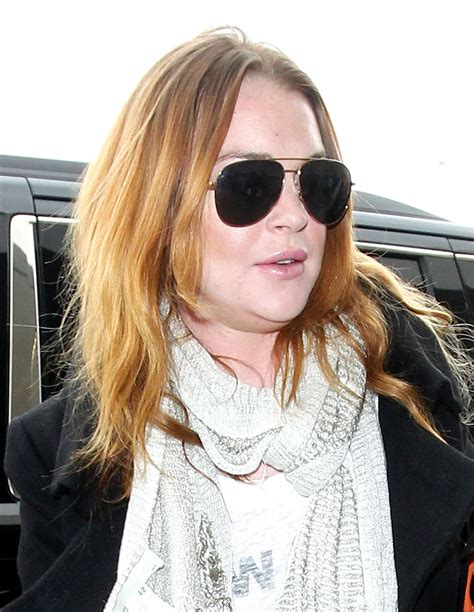 Lohans New by Lindsay Lohan Arrives At Jfk Airport In New York