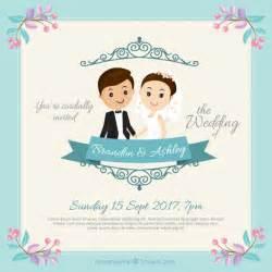 invitaciones de boda gratis descarga estas plantillas de