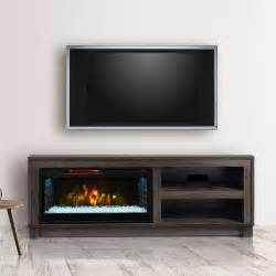 electric fireplace tv stands cameron electric fireplace tv stand in grey cs 28mm1030