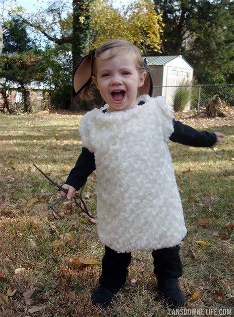 Handmade Sheep Costume - diy costume lansdowne
