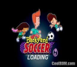 Backyard Soccer Ps1 by Backyard Soccer Rom Iso For Sony Playstation