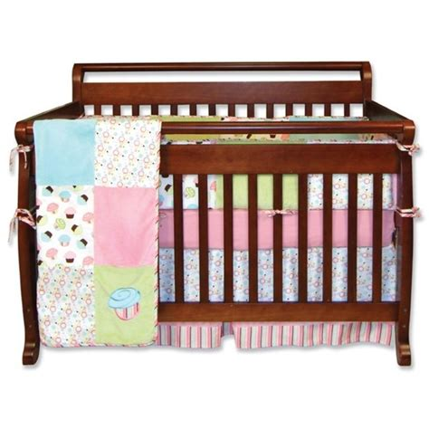 Cupcake Crib Bedding Cupcake 4 Crib Set Baby Bedding From Trend Lab Bb3 Baby Labs