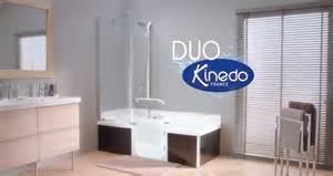 kinedo offre une cagne t 233 l 233 224 la baignoire 224 porte