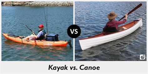 paddle boat vs kayak difference between kayak and canoe