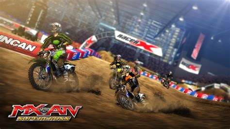 mx vs atv motocross mx vs atv supercross gamespot