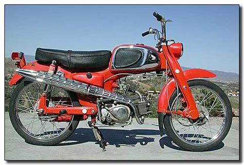 50ccm Motorrad Honda by The Honda Ca110 Sport 50 Was A 50cc 4 Stroke