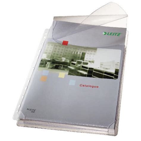 Dijamin Pocket Binder A4 With Best Flap leitz expanding pocket with flap a4 pack of 5 47573003 lz36321