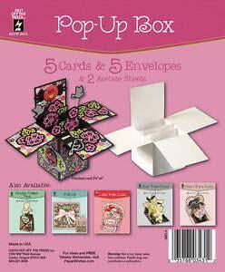 Pop Up Box Die Cut Cards Amp Envelopes Folded Greeting Paper