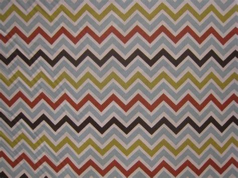Chevron Upholstery Fabric Chevron Spice Modern Upholstery Fabric By The Fabric