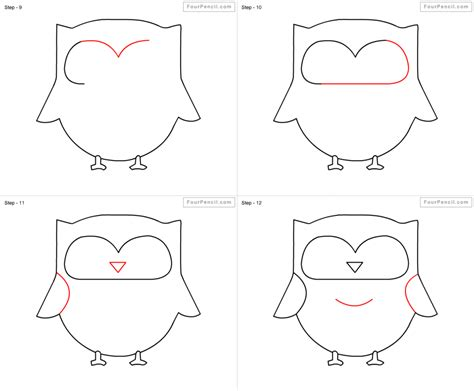 how to draw step by step how to draw an owl step by step easy www imgkid