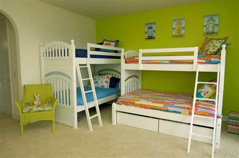 2 beds in 1 two bunk beds in one room home design