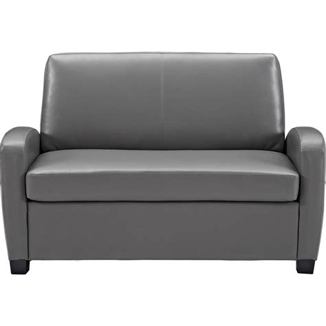 Mainstays Sofa Sleeper Black Faux Leather Mainstays Sofa Sleeper Black Faux Leather Radiovannes