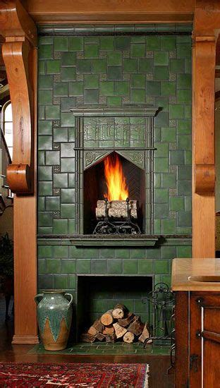 fireplaces tile and glazed tiles on