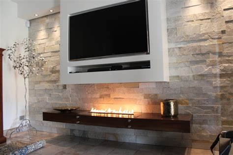 Bioethanol Fireplace by Planika Fires Offical Company Tv Mounted A