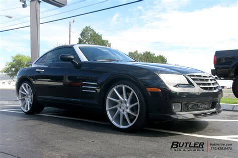 Chrysler Crossfire Tires by Chrysler Crossfire With 20in Savini Bm15 Wheels