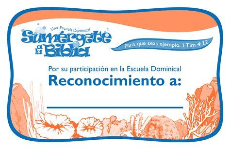 certificado de escuela biblica productos y descargas sum 233 rgete a la biblia los ni 241 os