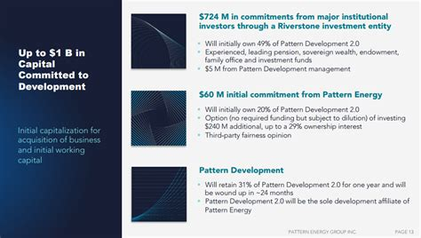 pattern energy group investors pattern energy group great potential and a great
