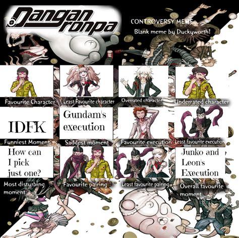 Meme Comic Character - danganronpa meme by thelittlecupcakepro on deviantart