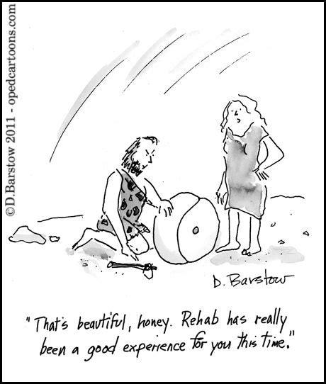 funny cartoons caveman wheel did cavemen have addictions too psychology today