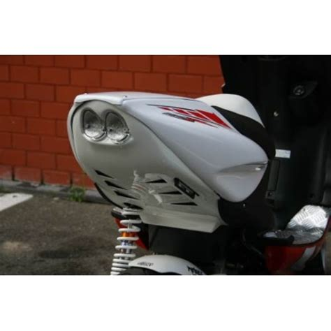 Knalpot Akra Cover Aerox Set rear passing nitro aerox mtkt with led 2008 type motorkit