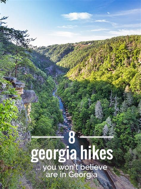 best towns in georgia 8 great georgia hikes you won t believe are in georgia
