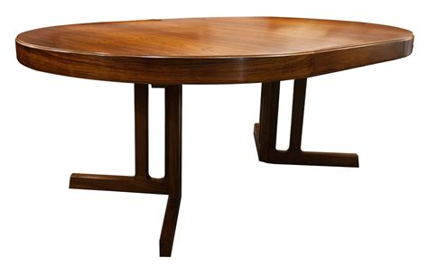 mid century modern design rosewood dining table and six