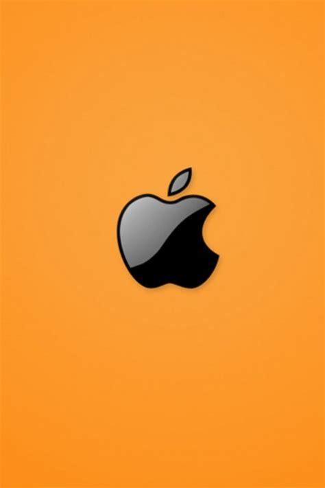 iphone wallpaper black  orange iphone
