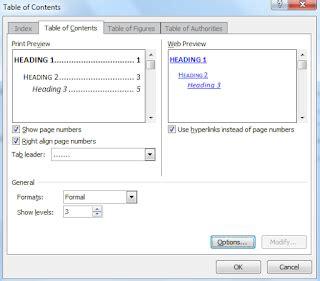 cara membuat daftar isi berbeda file tutorial ms word cara membuat daftar isi berbeda file