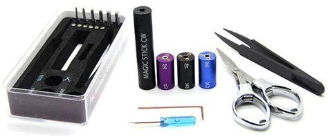 Aag783 Vaper Tweezer V3 Untuk Rokok Elektrik magic stick 6 in 1 cw coiling kit vapor