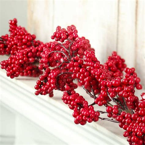 berry garland artificial berry cluster garland garlands