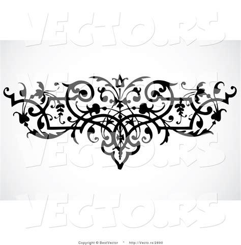 black and white elegant pattern 7 best images of elegant black and white printable borders