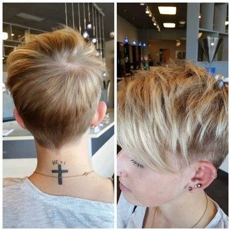 pixie haircut with shaved sides 18 latest short layered hairstyles short hair trends for
