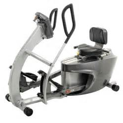 Scifit rex total body recumbent elliptical bike used workout