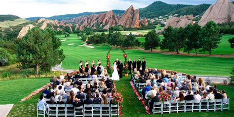 arrowhead golf club weddings  prices  wedding
